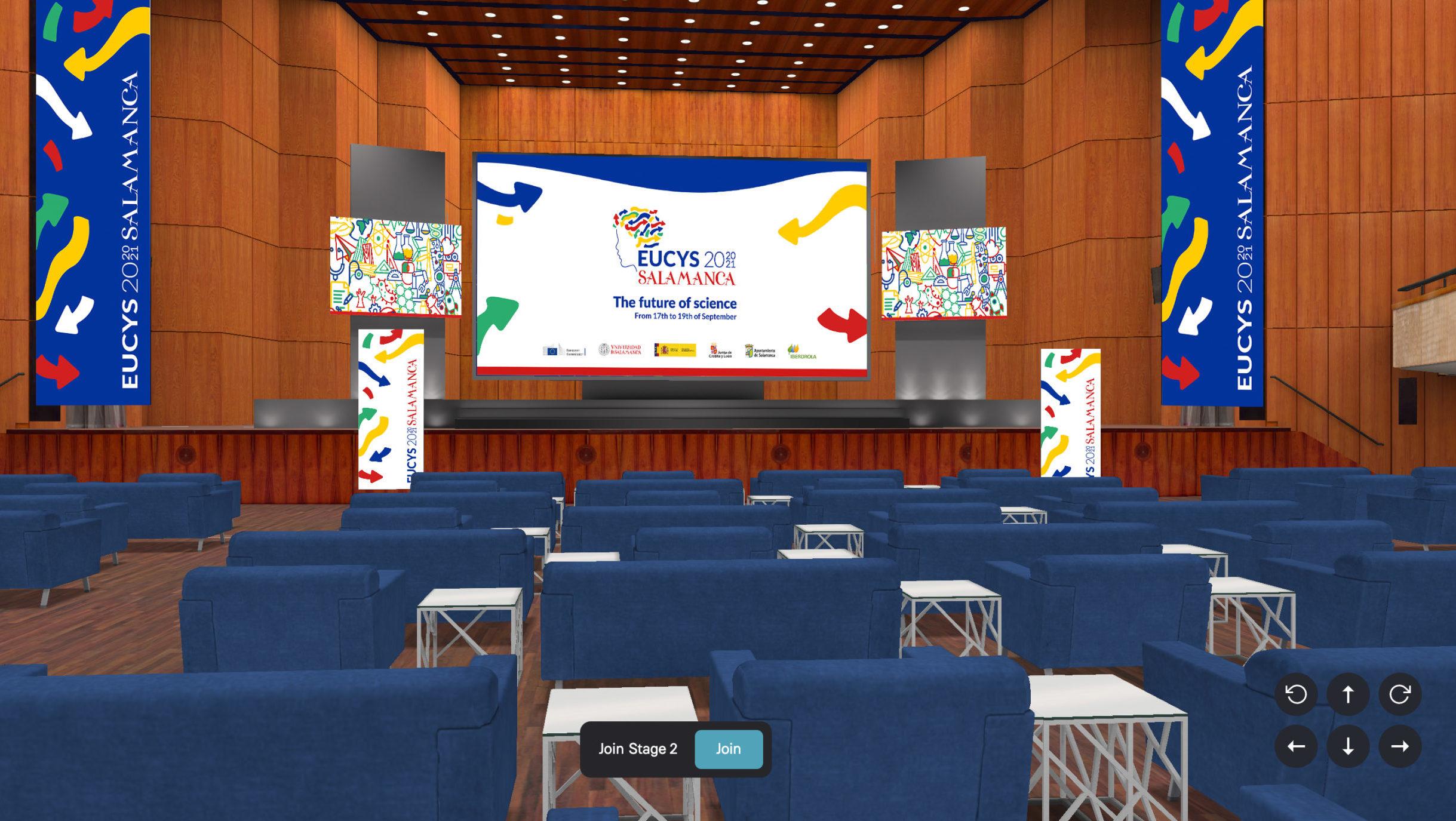 EUCYS 2021 Virtual Platform